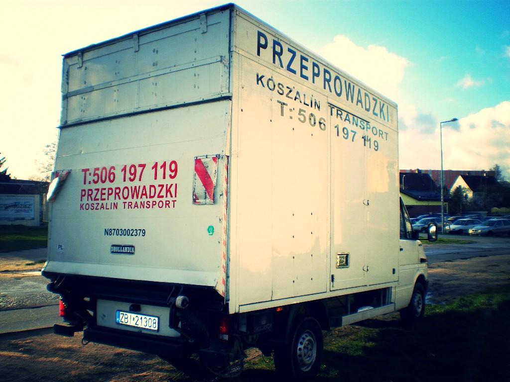 Przeprowadzki Koszalin i transport