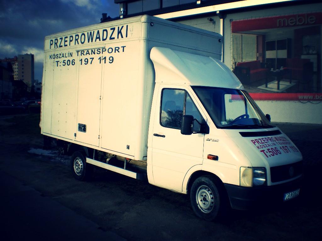 Samochód do przeprowadzek w Koszalinie